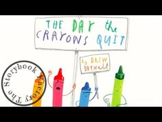 The Day the Crayons Quit - Storybook Read Aloud! - YouTube