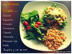 Quinoa estilo thai