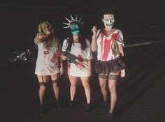purge girls halloween costume purge costume - Girl Halloween Masks