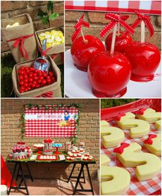 Snow White themed birthday party