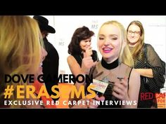 Dove Cameron interviewed at the 23rd Annual Race To Erase MS Gala #Erase...