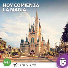 Comienza la magia para el grupo #verdeF16! #Disney allá vamos! Temporada #enjoy15!