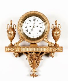 Photo #63 of #707070. It's almost time for Masterpiece... This rare giltwood bracket clock will be amongst the treasures we are showing there...