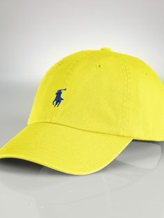 embroidered logo cap - Yellow & Orange Polo Ralph Lauren