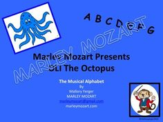 Join Oli the Octopus as he shows the easy way to learn the Musical Alphabet! Children and Adults Love to play with Oli and learn the structure of the musical alphabet and even use the Shaps and Flats when ready! It's guaranteed Fun and easy to learn! Music Education Activities, Music Worksheets, Octopus, Good Music, Make It Simple, Piano, Musicals, Alphabet, Join