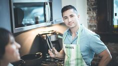 According to Daniel real men cook ! ❤;-)