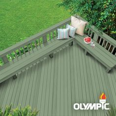 Olympic Elite: A premium wood stain and sealant. This semi-solid stain adds color while still allowing the wood grain and texture to show. This super-premium exterior wood stain is formulated to protect Exterior Wood Stain Colors, Wood Deck Stain, Fence Stain, Semi Transparent Stain, Water Based Wood Stain, Wood Grain, Weathered Wood, Cedar Wood, Cedar Stain