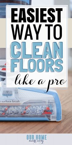 Bissell Crosswave is the easiest way to keep all floors clean when you're too busy Safe Cleaning Products, Household Cleaning Tips, Cleaning Solutions, Fall Cleaning, Cleaning Items, Cleaning Supplies, Diy Cleaners, Cleaners Homemade, Diy Floor Cleaner