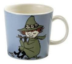 Snufkin Moomin mug from Arabia by Tove Jansson, Tove Slotte Moomin Shop, Moomin Mugs, Moomin Valley, The Enchantments, Tove Jansson, Porcelain Mugs, Ceramic Cups, Food Humor, Marimekko