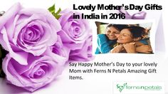 Lovely Mothers day gift collection from FNP. #mothersdaygifts #giftsformom #mothersday2016