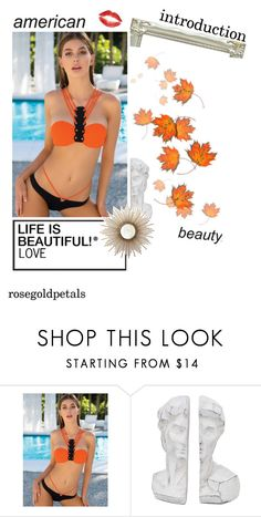 """""""CUTE BANDAGE BIKINI"""" by simpleeofficial ❤ liked on Polyvore"""