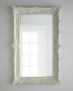 """Antique White"" Mirror at Horchow."