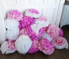 DIY Tissue Flowers