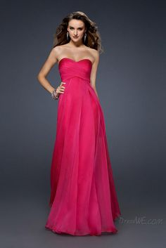 Concise A-Line Sweetheart Ruched Floor-Length Evening Dress 10901456 - Evening Dresses 2014 - Dresswe.Com