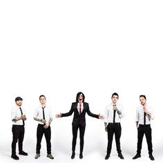 sleeping with sirens is my third favourite band out of my 'big 4'