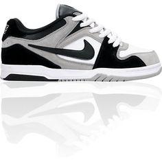 Nike 6.0 Air Zoom Oncore Medium Grey, Black & White Shoe