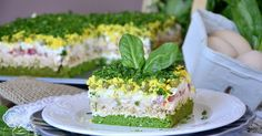 pl:: Przepisy kulinarne w jednym miejscu. Tasty Bites, Polish Recipes, Food Cakes, Salmon Burgers, Vanilla Cake, Cake Recipes, Cheesecake, Appetizers, Food And Drink