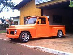 Caçamba + Paralamas F75 ( Willys - rural) Stepside HOT