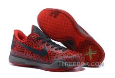 "1947784b621 Kobe 10 Safari Print ""Red Charcoal Gold"" For Sale Free Shipping"