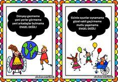 Handicapped Day - No Barriers Booklet, Adolescence, Booklet, Children, Kids, Kindergarten, Preschool, Blog, Eye, Young Children