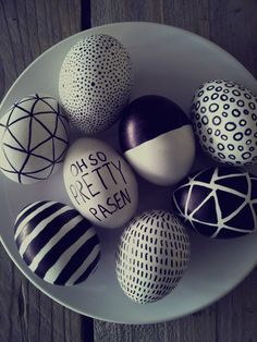 DIY: Easter egg drawings