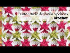 Cuadrado o granny con roseta 3D tejido a crochet - Tejiendo Perú - YouTube