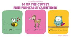 14 of the best free printable valentines, for boys, girls, and very fun adults