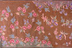 Java, Pekalongan, c. 1950 Liem Siek Hien ( post 1965, Jane Hendromartono), 1924 - 1986 Skirt cloth kain panjang pagi-sore (detail) Cotton, synthetic dyes; batik tulis 104.0 x 259.5.0 cm