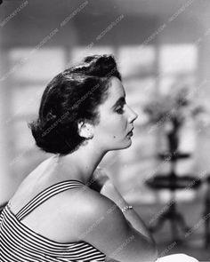photo portrait profile Elizabeth Taylor 1189-31