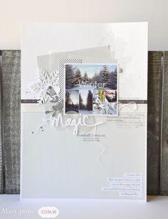Il y a quelques semaines, je partageais avec vous une mosaïque de photos enneigées. J'ai voulu scraper ces clichés de saison et pour cela, j'ai choisi les papiers à imprimer de chez COM.16. Des tons bleus et gris avec les références Ethan 07 et 20 et...