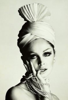 Brown By Ashlene: TURBANISTAS: Supermodel Wilhelmina Cooper