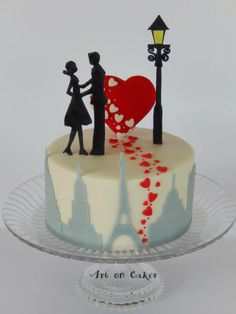 Art on Cakes...make it London skyline only and im sold!