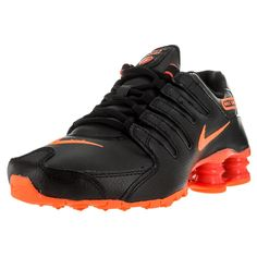 new product dfaf4 48002 Hit the road running with these black sneakers from Nike . These  lightweight soles feature a