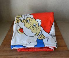 Vintage Gnome David de Kabouter Cotton Duvet by BlanketsAndCie