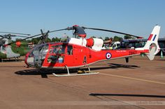 Royal Air Force Gazelle, used for training.