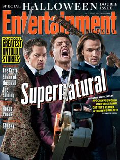 Jensen Ackles, Jared Padalecki, and Misha Collins talk Castiel's reunion with the Winchesters and Sam Winchester, Familia Winchester, Winchester Brothers, Supernatural Star, Supernatural Seasons, Supernatural Merchandise, Supernatural Playlist, Supernatural Pictures, Supernatural Imagines