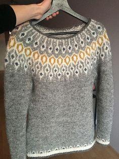 Telja pattern by Jennifer Steingass- Telja pattern by Jennifer Steingass - Knitting Terms, Fair Isle Knitting Patterns, Sweater Knitting Patterns, Knitting Charts, Knitting Designs, Knit Patterns, Knitting Projects, Norwegian Knitting, Nordic Sweater