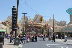 Part 2 - Full STEADY Walking Tour of Cars Land - Disney California Adventure 2012 - HD