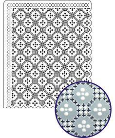 Parchment gridwork
