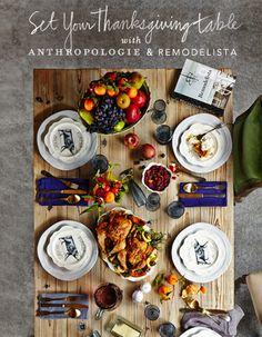 Anthropologie + Remodelista #PinToWin #anthropologie
