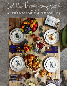 Feast of Gratitude! #PinToWin #Anthropologie