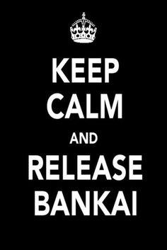 Bleach ~~ keep calm and release BANKAI