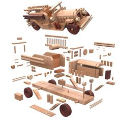 Check Out These Tips About Wooden Toy plans Woodworking is both a valuable trade and an artistic skill. There are many facets to woodworking which is why it is so enjoyable. Wooden Plane, Wooden Car, Wooden Toys, Wood Projects, Projects To Try, Wood Toys Plans, Model Building Kits, Woodworking Toys, Table Saw