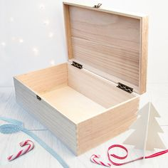 Personalised Traditional Christmas Eve Box Red by SerendipityVita