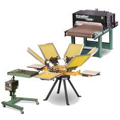 Screen Printing Startup Equipment Screen Printing Equipment, Drafting Desk, Prints, Shirt, Home Decor, Decoration Home, Dress Shirt, Room Decor, Shirts