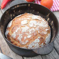 Oerhört saftigt bröd med en härlig, knaprig brödskorpa.