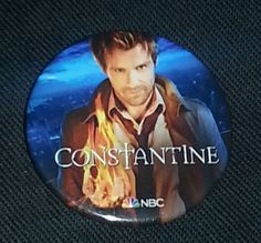 I've got one of these! Just caught the premiere and loved it! Can't wait for more. sdcc 2014 Constantine nbc promo pin button