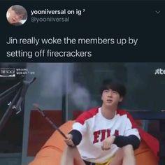 Bts Jin, Bts Bangtan Boy, Bts Taehyung, Bts Boys, Namjoon, Jhope, Bts Memes Hilarious, Bts Funny Videos, S Videos
