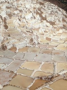 Salinas and Moray in the hills just above Urubamba | Salinas is an amazing terraced salt pan and extraction site used for salt production since pre-Inca times | The terraced patties are similar in concept to the rice patties of Asia http://4souls1dream. blogspot.com/2015/10/salinas-and-moray