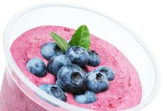 Spinach berry smoothie from Dr. Oz